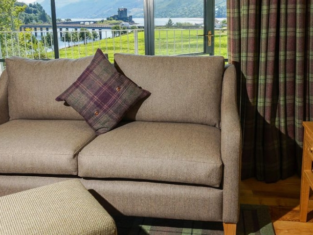 Eilean Donan Apartments, Lounge view