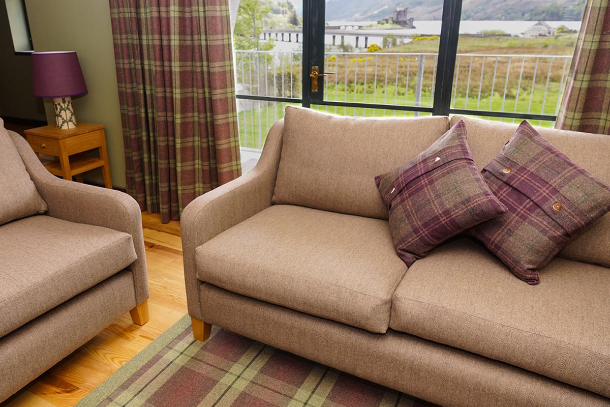 Eilean Donan Apartments, Lounge, Window