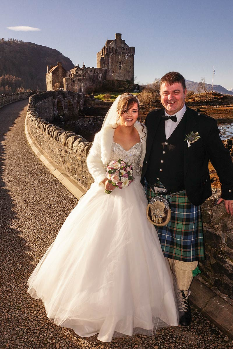 Eilean Donan Apartments,Wedding