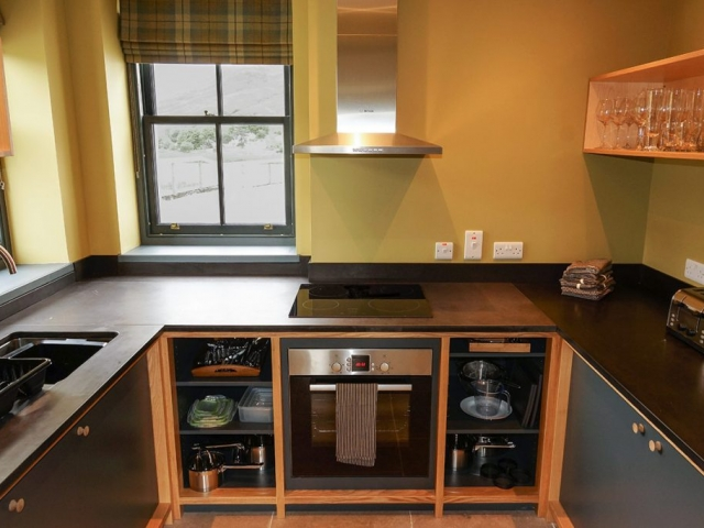 Eilean Donan Apartments, Kitchen
