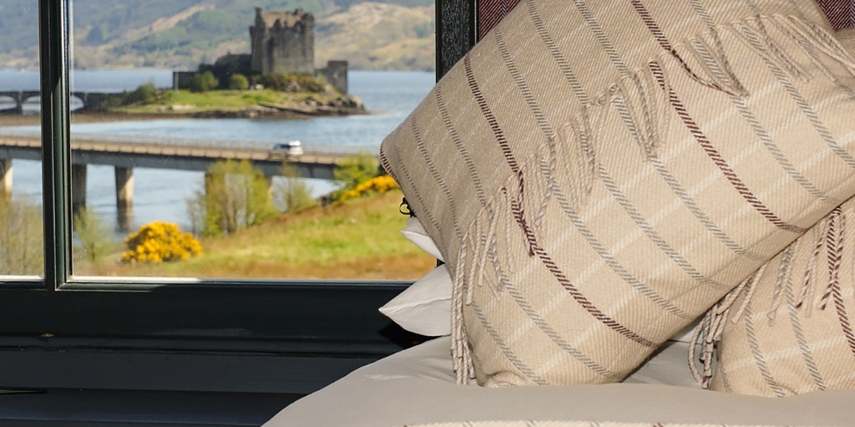 Eilean Donan Apartments, Sleeps four, Bedroom