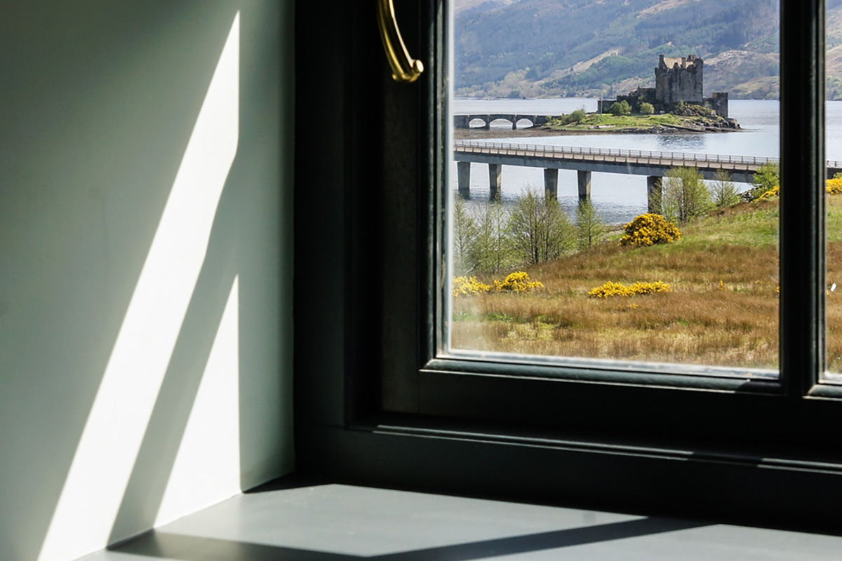 Eilean Donan Apartments, Sleeps four, window