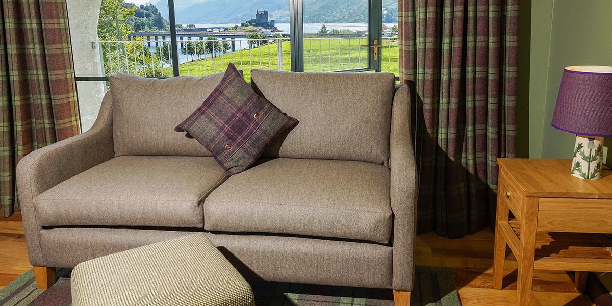 Eilean Donan Apartments, Lounge view
